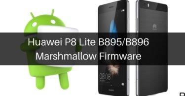 B600 Marshmallow on Huawei P8 Lite