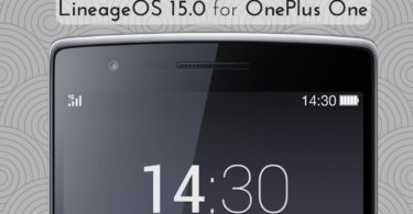 LineageOS 15.0 For OnePlus One