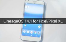 Lineage OS 14.1 on Google Pixel and Pixel XL