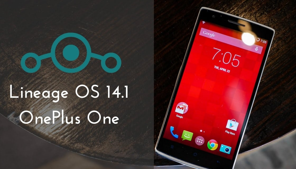LineageOS 14.1 on OnePlus One