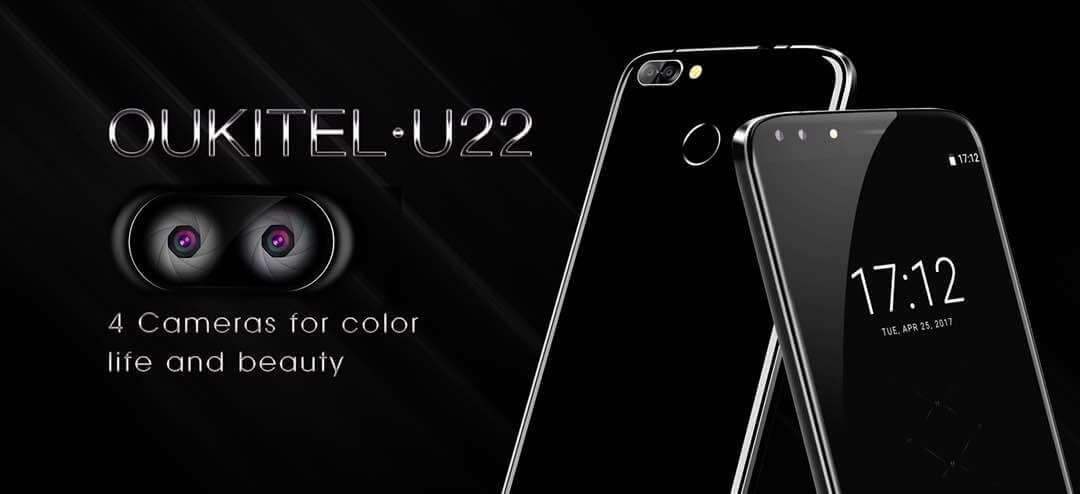 OUKITEL's 4 camera smartphone