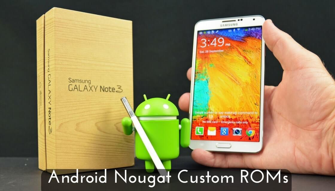 Custom ROM on Samsung Galaxy Note 3