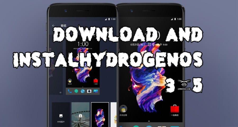 Hydrogen OS H2OS 3.5