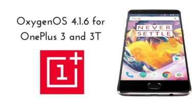 OxygenOS 4.1.6 for OnePlus 3
