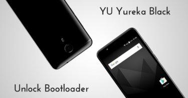 Unlock Bootloader of YU Yureka Black