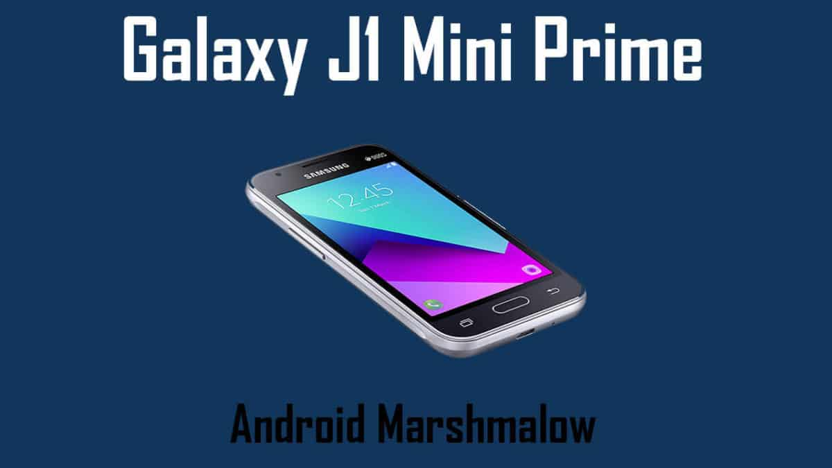 Download And Install Galaxy J1 Mini Prime Sm J106b J106bubu0aqd1 Android 6 0 1 Update