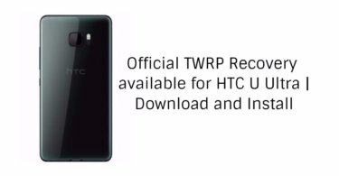 Official TWRP 3.1.1 available for HTC U Ultra