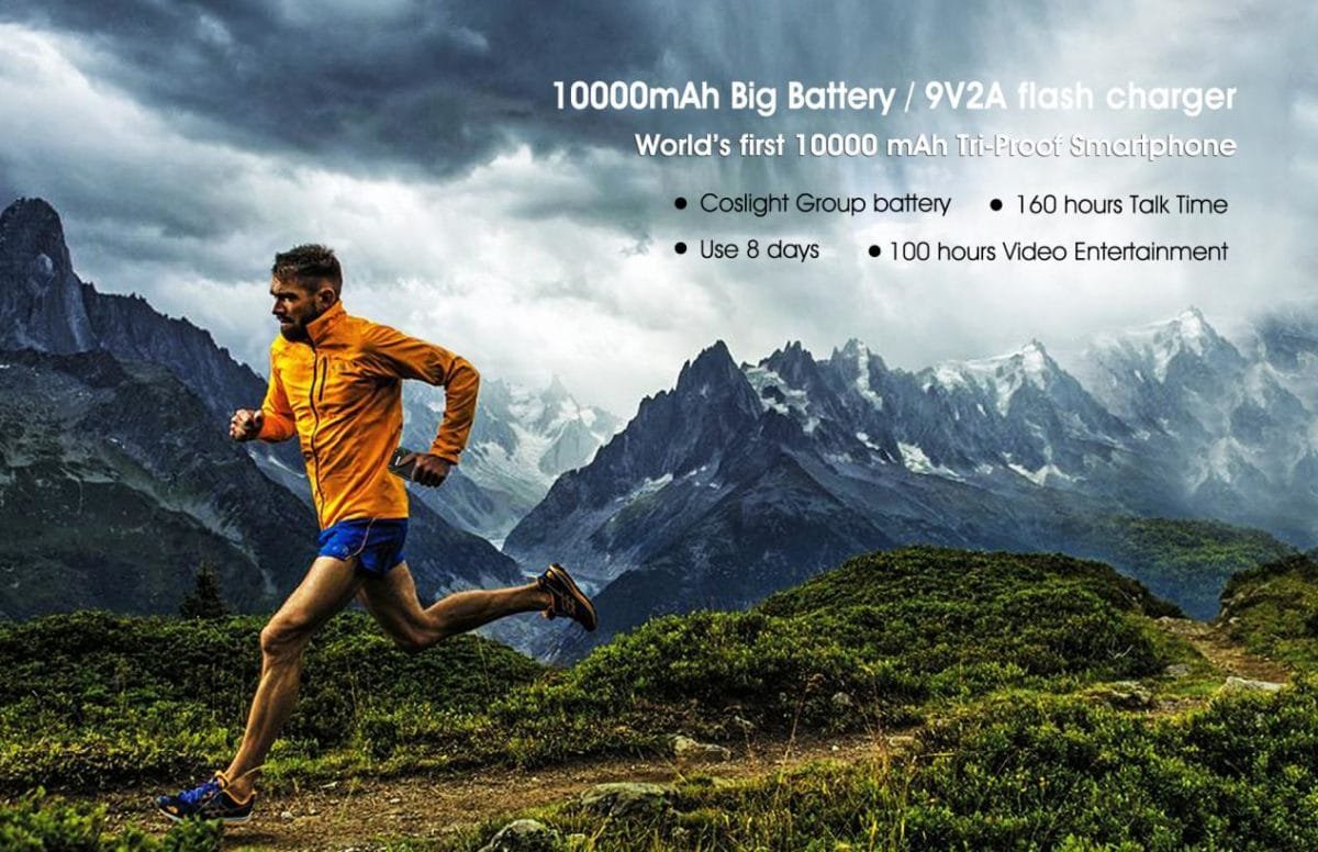 Oukitel Is Releasing K10000 MAX With 10000mAH Battery and Quick Charge