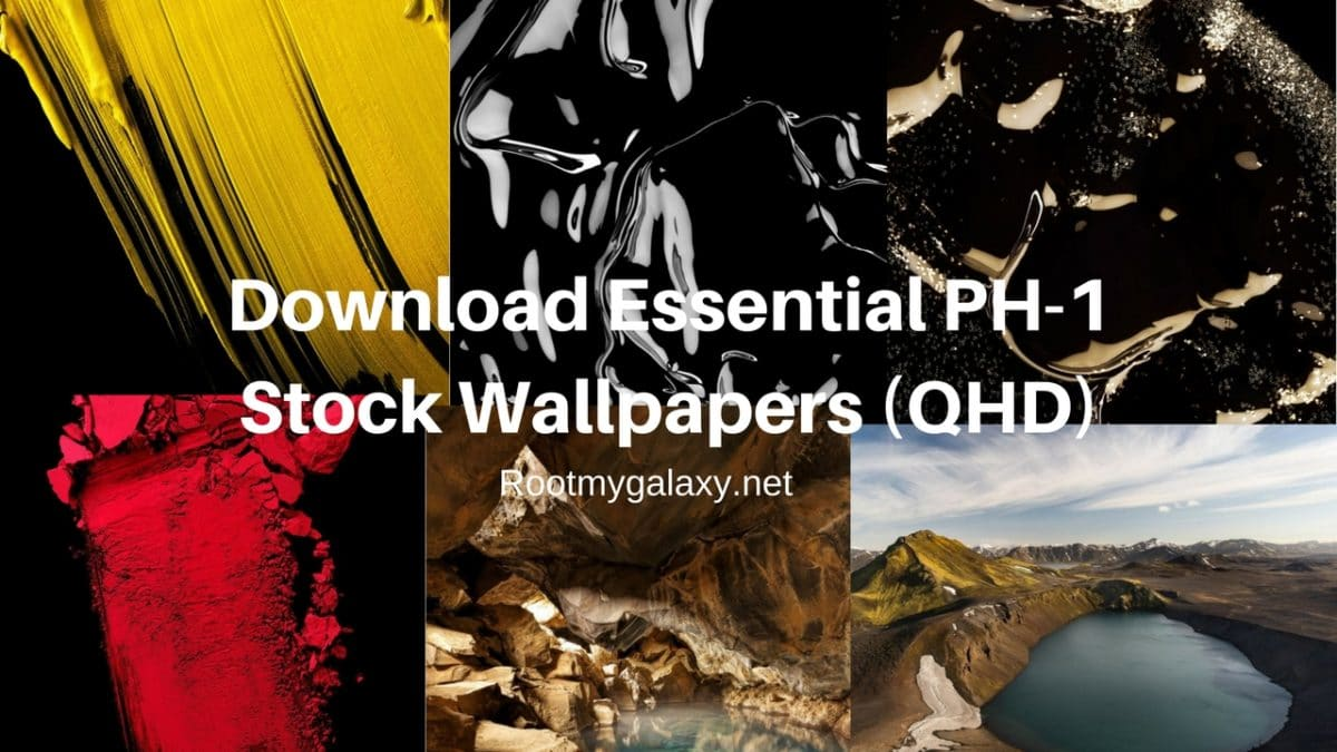 Download Essential Ph 1 Stock Wallpapers Qhd