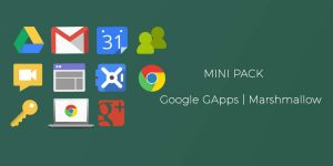 Download Mini Gapps for Android Marshmallow 6.0.1