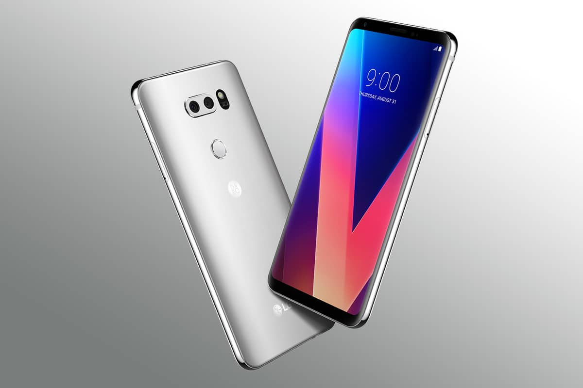 Lineage OS 15 on LG V30