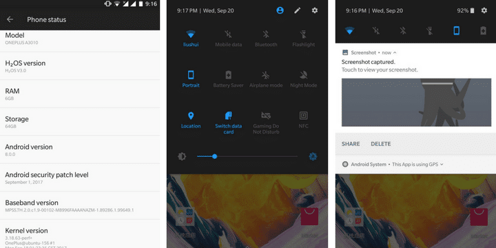 Hydrogen OS 8.0.0 On OnePlus 3T