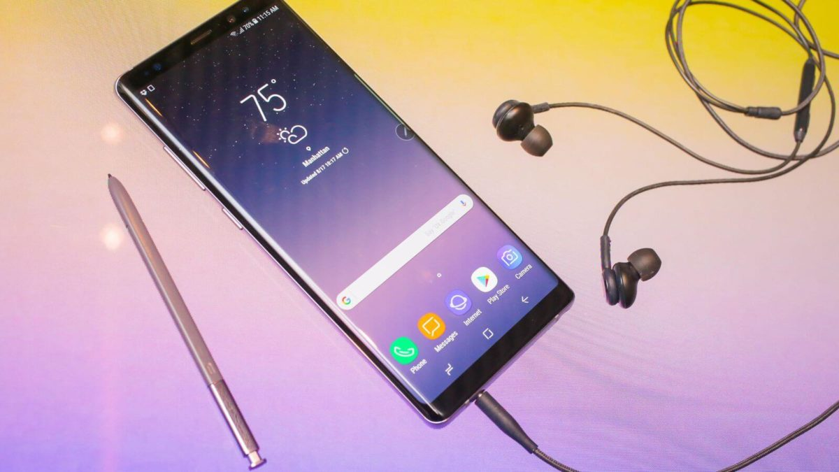 Boot Into Galaxy Note 8 Bootloader mode