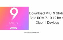 Download MIUI 9 Global Beta ROM 7.10.12 for all Xiaomi Devices
