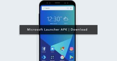 Microsoft Launcher apk