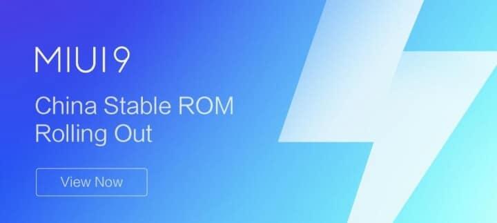 Xiaomi Mi 5X MIUI 9 China Stable ROM V9.0.3.0.NDBCNEI