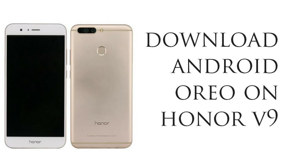 Android 8.0 Oreo on Honor V9