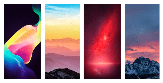 Oppo R11S Stock Wallpapers