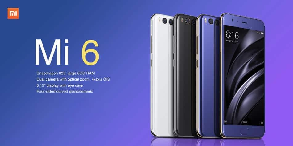 Stock ROM on Xiaomi Mi 6