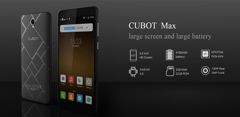 Root Cubot Max and Install TWRP recovery