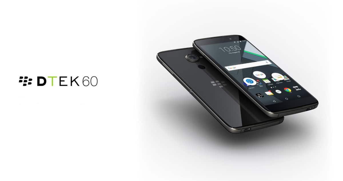 BlackBerry DTEK60 AAQ934 November 2017 patch Update