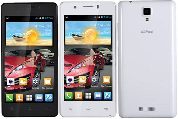 Root GIONEE P4 and Install TWRP recovery