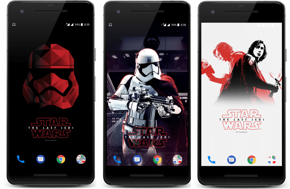 Make Any Android Look Like An OnePlus 5T Star Wars Edition
