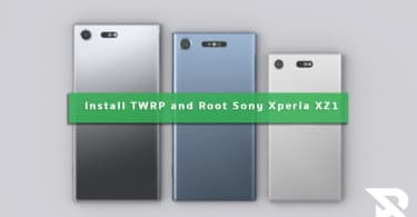 Install TWRP Recovery and Root Sony Xperia XZ1