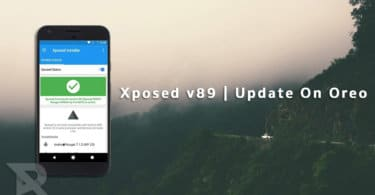 Xposed For Oreo and Xposed v89