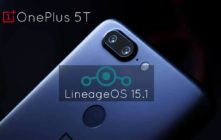 Download and Install Lineage OS 15.1 For OnePlus 5T