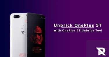 Unbrick OnePlus 5T with OnePlus 5T Unbrick Tool