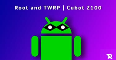 Root Cubot Z100 and Install TWRP Recovery