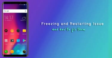 Fix Elephone Smartphones Restarting and Freezing Problem