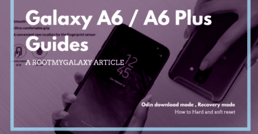 Samsung Galaxy A6 (Plus): ODIN Download Mode, Recovery Mode, Hard and Soft Reset