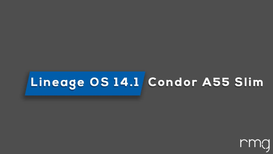 Lineage OS 14.1 On Condor A55 Slim