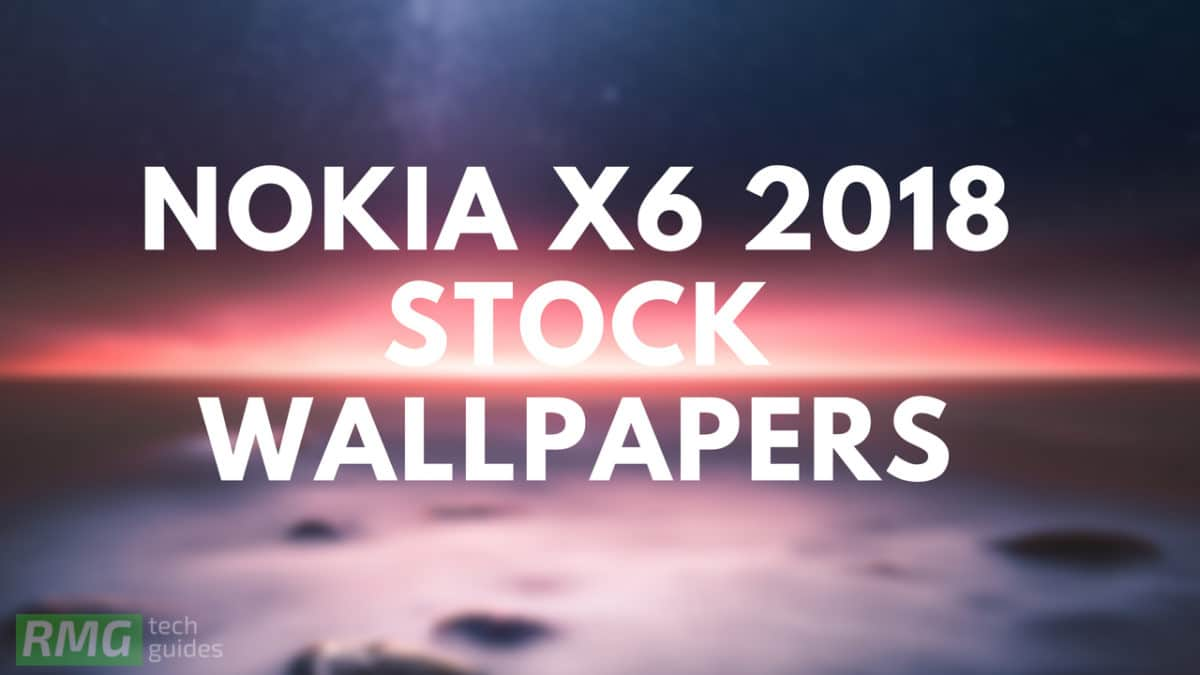 Download Nokia X6 (2018) Stock Wallpapers