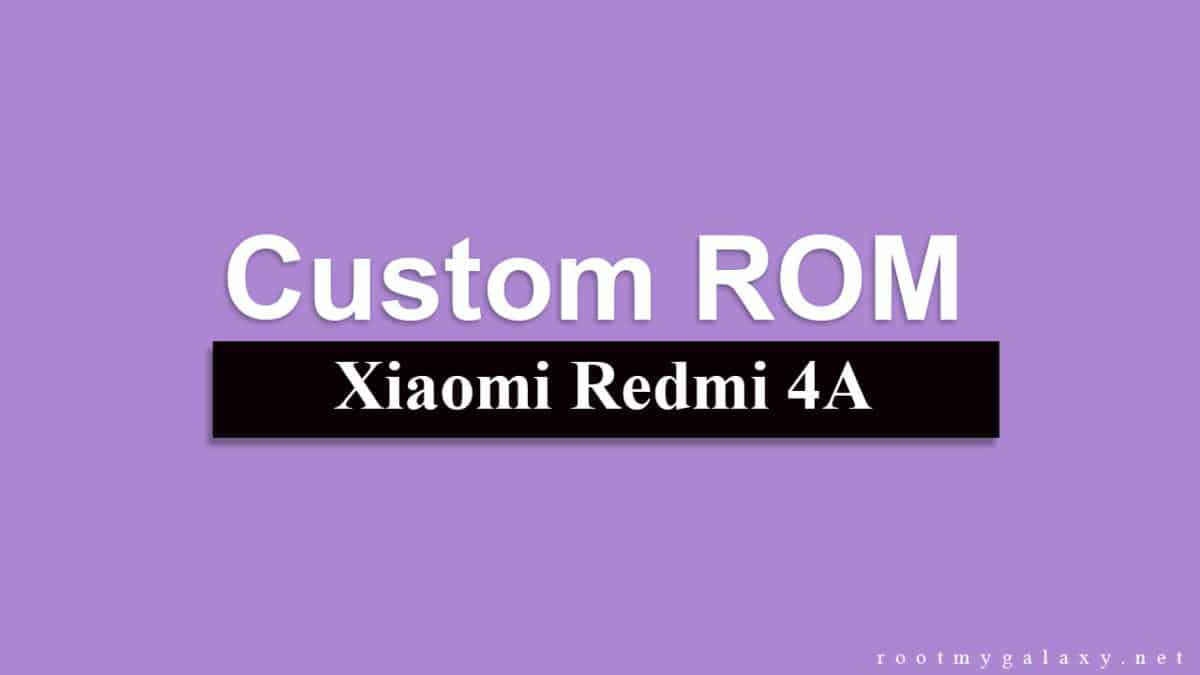 Install Android 8.1 Oreo On Redmi 4A [Pixel Experience ROM]