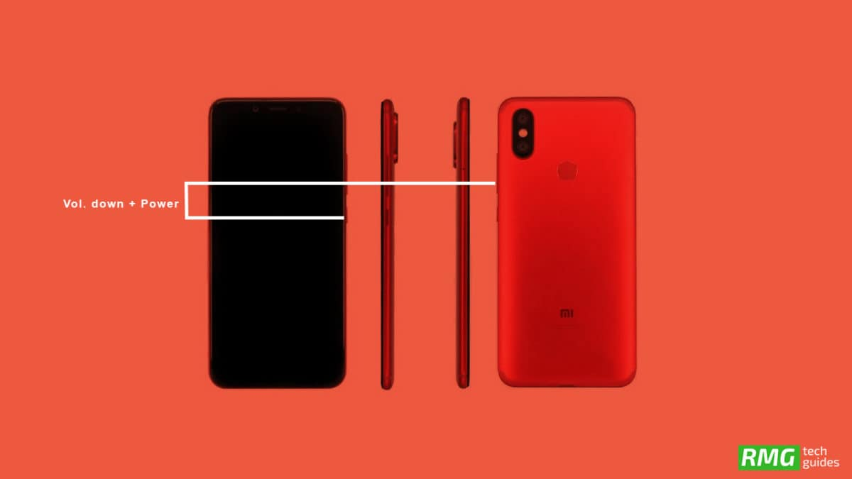 Take A Screenshot On Xiaomi Mi A2 (6X)