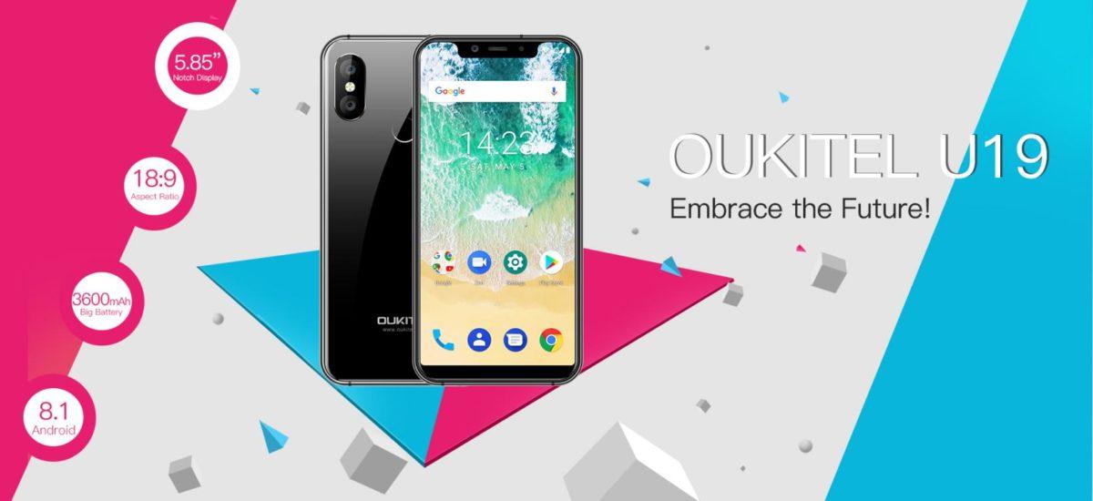 OUKITEL U19-a new iPhone X clone
