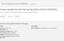 AT&T Galaxy Note 5 N920AUCS5ERE1 May 2018 Security Update (OTA Patch)