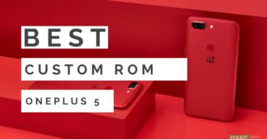 Download/InstallAndroid 8.1 Oreo On OnePlus 5T With AOKP ROM