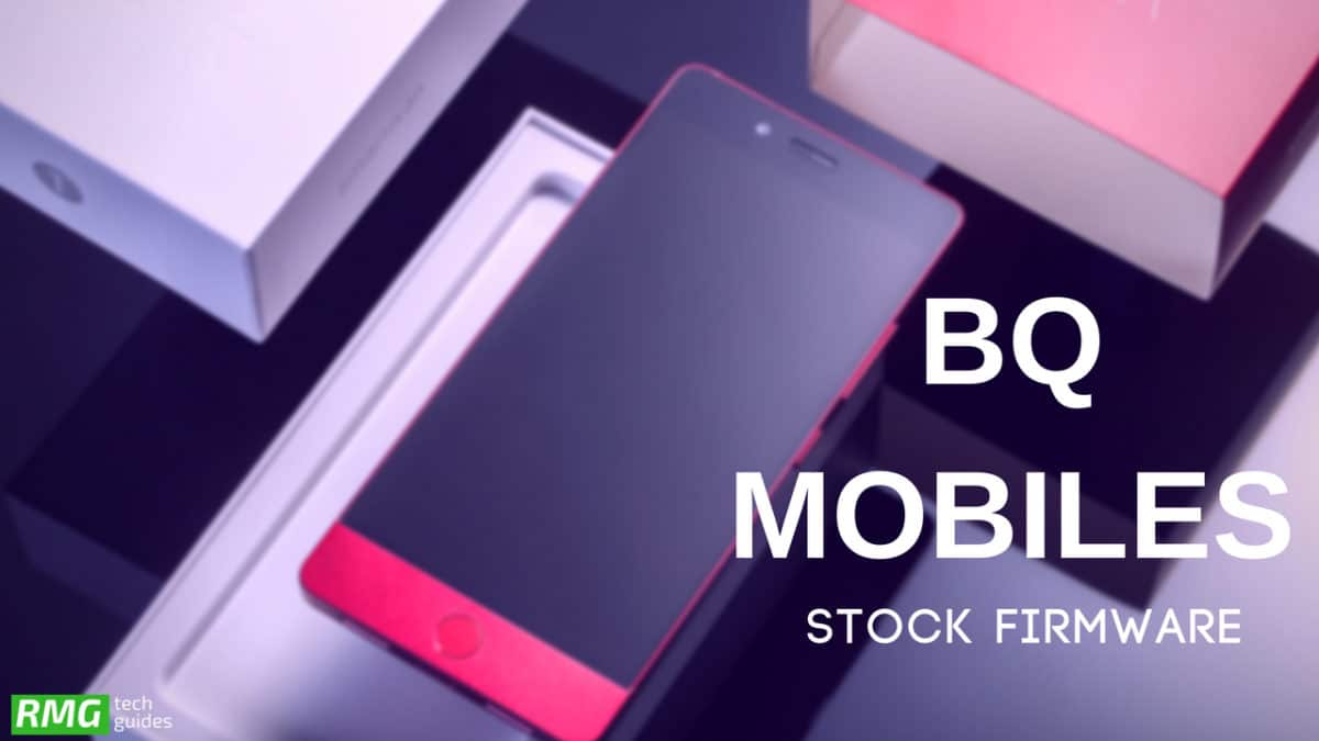 Download and Install Stock ROM On BQ Aquaris X [Official Firmware]