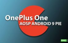 Download and Install Android 9.0 Pie Update on OnePlus One (AOSP ROM)