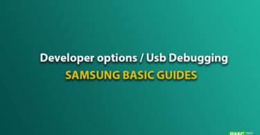 Enable Galaxy On6 developer option and Usb Debugging