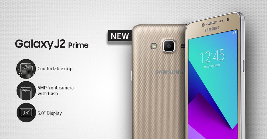Change Samsung Galaxy J2 Prime Default language