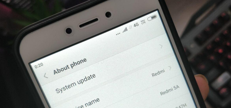 Check OTA Software Updates On Xiaomi Redmi Note 6 Pro (System Update)