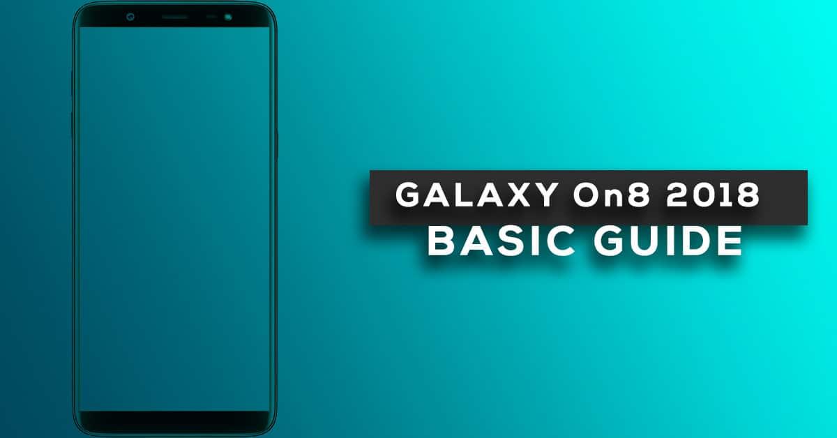 Change Samsung Galaxy On8 2018 Default language