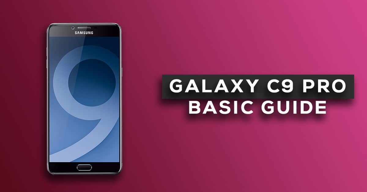Change Samsung Galaxy C9 Pro Default language