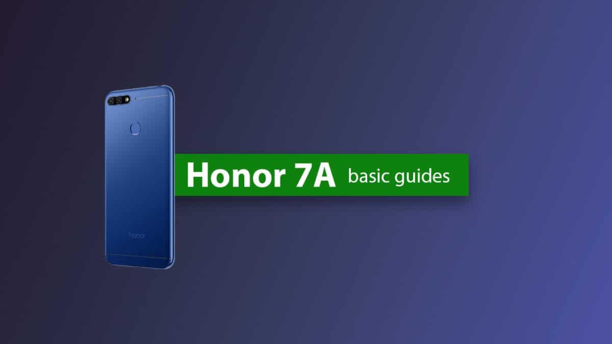 Remove Huawei Honor 7A Forgotten Lock Screen Pattern, Pin, Password, and Fingerprint