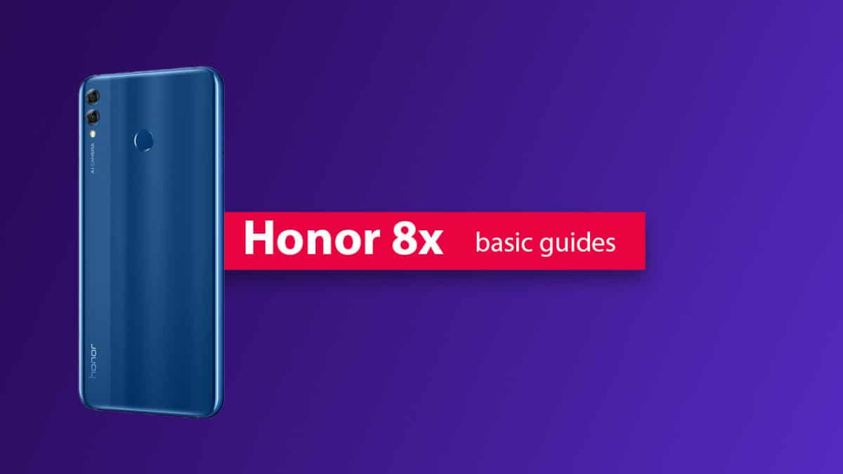 Remove Honor 8x Forgotten Lock Screen Pattern, Pin, Password, and Fingerprint